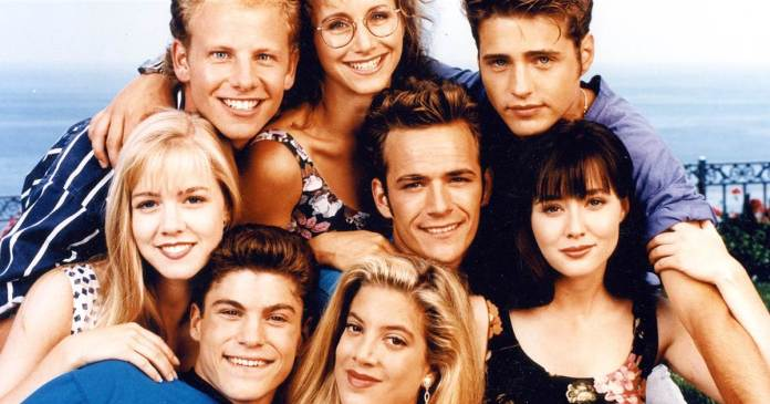 Shannen Doherty Beverly Hills 90210 reboot cast brenda luke perry