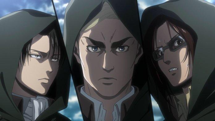 l'attacco dei giganti 3 shingashina eren armin