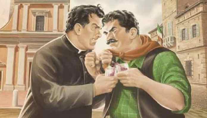 Peppone Don Camillo a fumetti Giovannino Guareschi