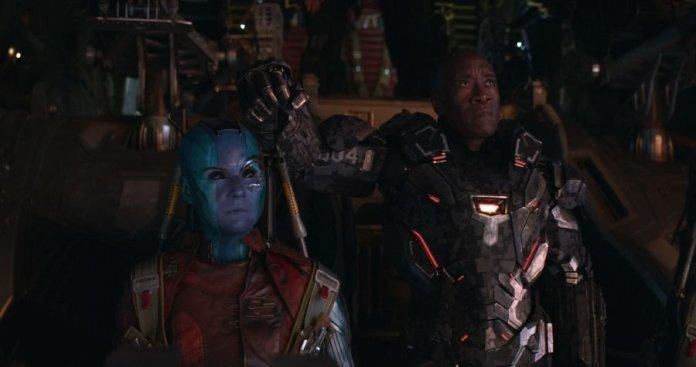 Avengers: Endgame - Nebula e War Machine