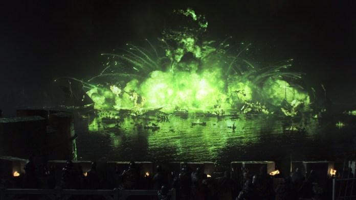 L'altofuoco brucia la flotta di Stannis Baratheon