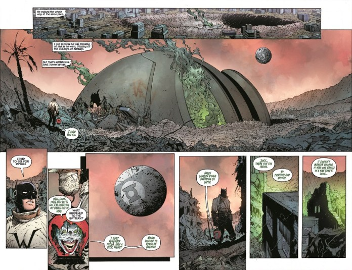 Batman: Last Knight on Earth dc comics