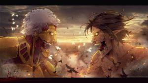 L'attacco dei giganti 117: Eren VS Reiner (ancora!) [SPOILER]