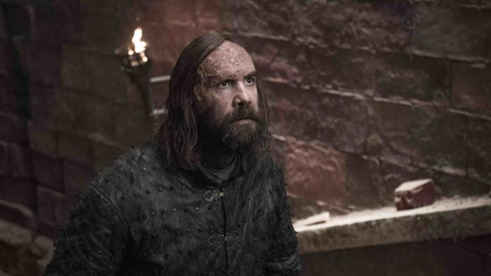 Game of Thrones 8x05 Sandor Clegane, il Mastino (Credits: HBO)
