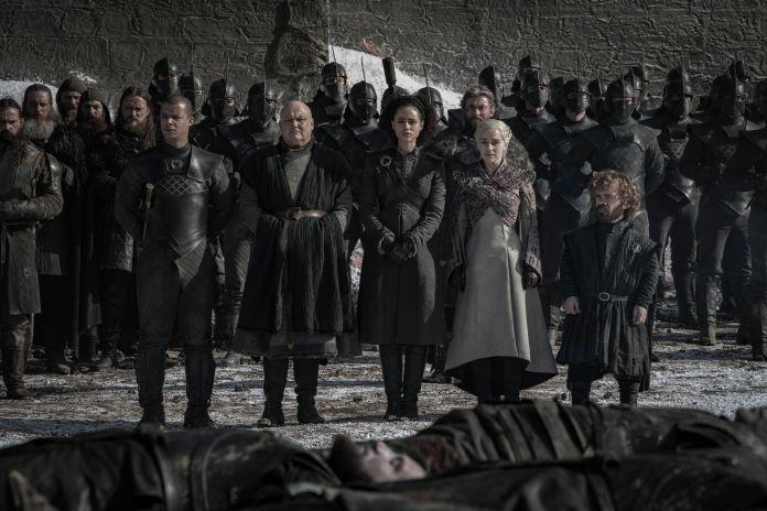 Varys, Verme Grigio, Daenerys, Missandei, Tyrion
