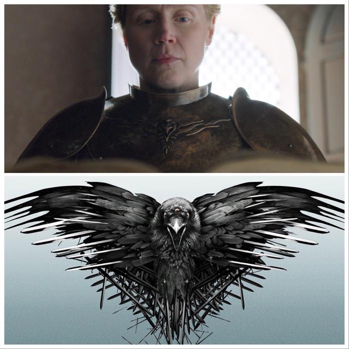 Game of Thrones (Il Trono di Spade) 8x06 - Easter Eggs Simbolo Corvo a Tre Occhi