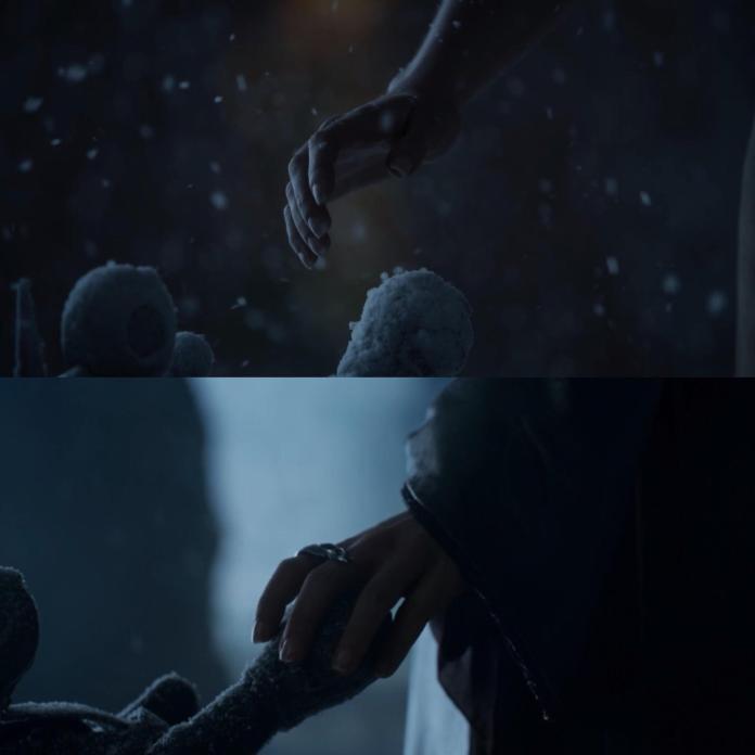 (Il Trono di Spade) 8x06 - Easter Eggs  Daenerys Trono distrutto