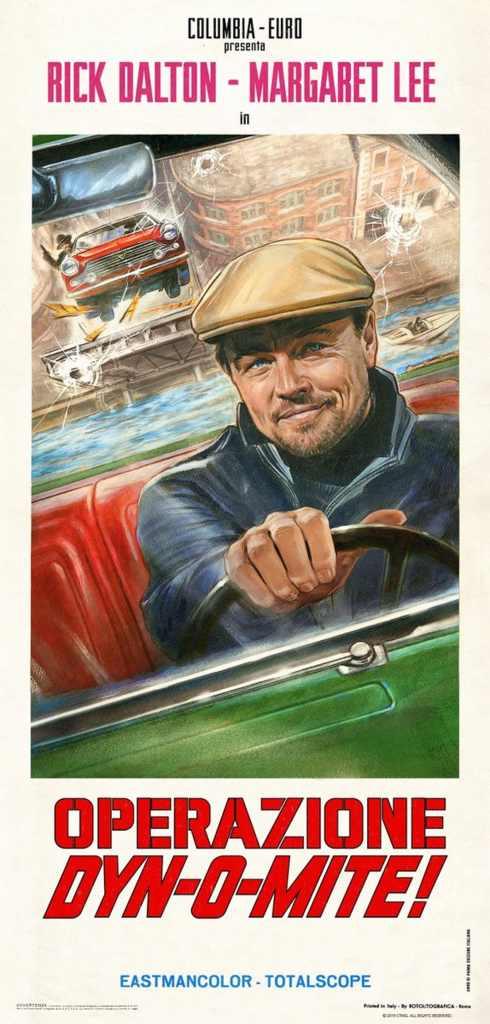 Rick Dalton - Leonardo DiCaprio film