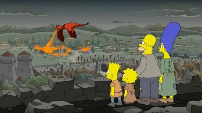 Game of Thrones 8x05: i Simpson avevano previsto tutto? - Daenerys