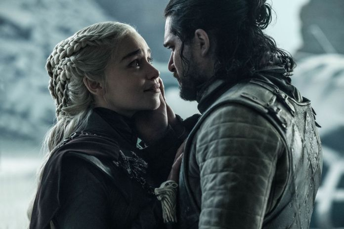 Jon e Daenerys