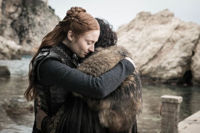 Sansa Stark e Jon Snow