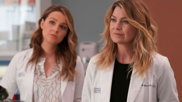 grey's anatomy 15x24 promo sinossi data bailey