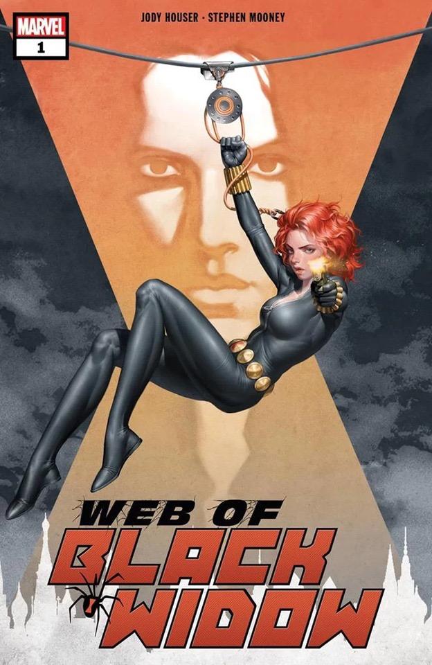 Marvel Black Widow Marvel comics Natasha romanoff