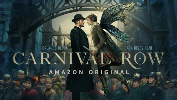 Il secondo teaser trailer di Carnival Row: la serie tv fantasy di amazon prime video con orlando bloom e cara delevigne