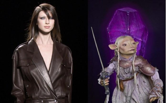 Caitriona Balfe/Tavra il cast della serie prequen di jim henson su netflix