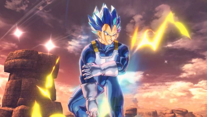 Dragon Ball Xenoverse 2 Vegeta SSJ Blue Evolution