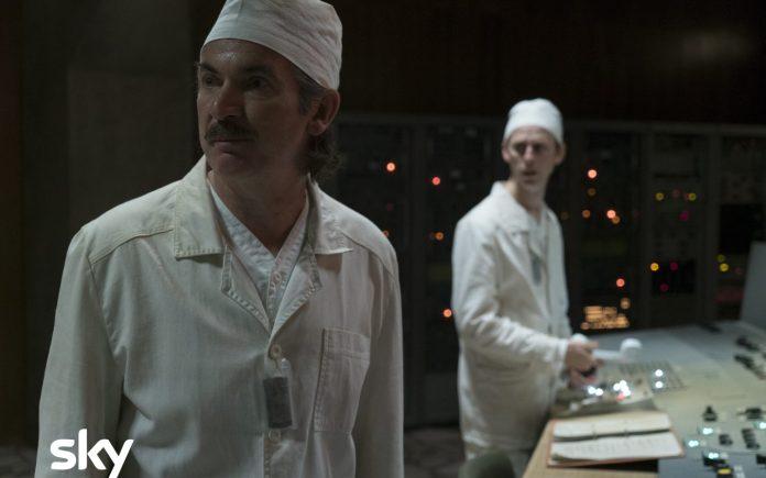 Chernobyl 1x01 - Credits: HBO