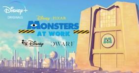 Monsters at Work: ecco il poster dello spin-off di Monsters & Co.