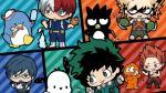 My Hero Academia e Sanrio uniscono le loro forze per una collaborazione speciale