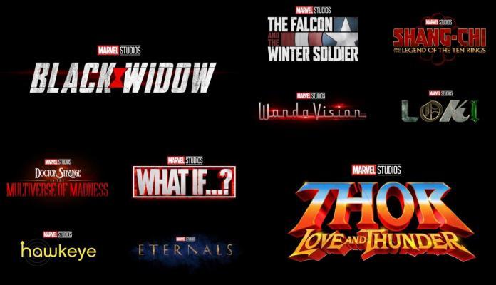 marvel studios fase 4 marvel cinematic universe kevin feige avengers disney+