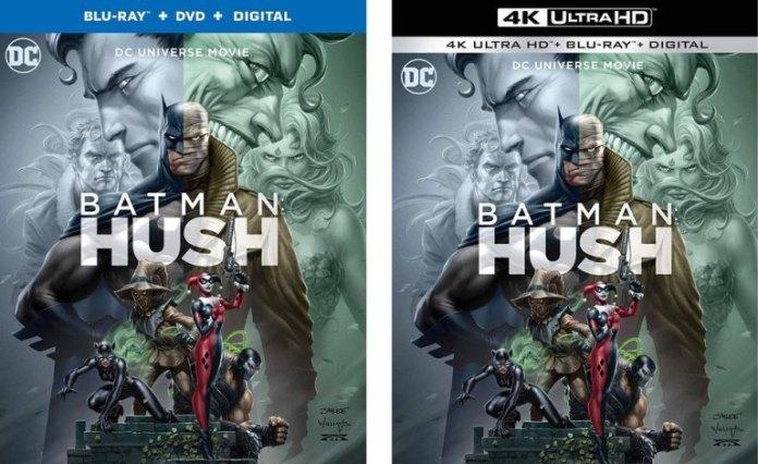batman hush trailer italiano dc comics