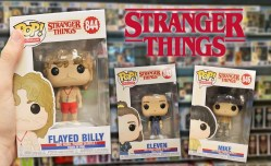 Stranger Things 3: svelati i nuovi Funko Pop