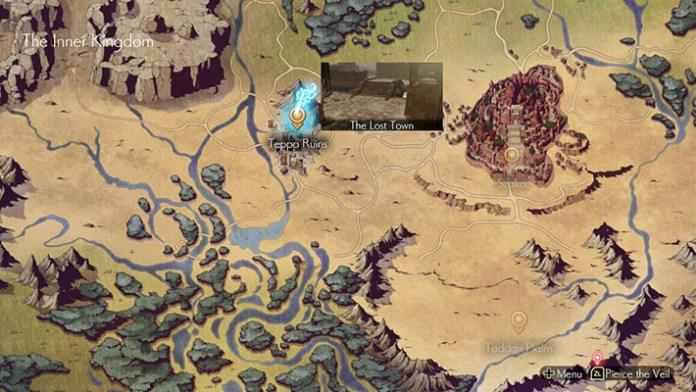 Oninaki World Map