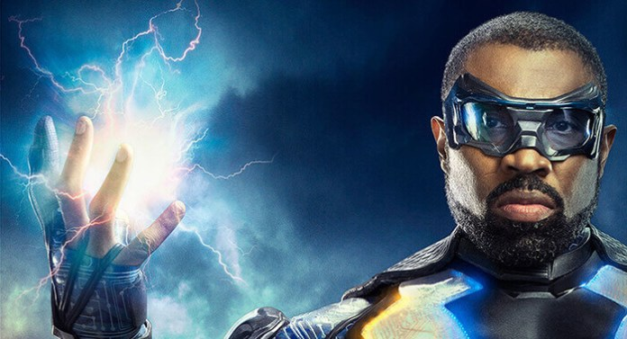 black lightning supergirl the cw dc comics arrowverse the cw san diego comic-con