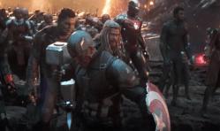 Una scena tagliata di Avengers: Endgame mostra il tributo degli eroi a Tony Stark