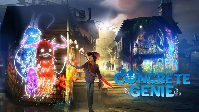 Concrete Genie PS4 Wallpaper