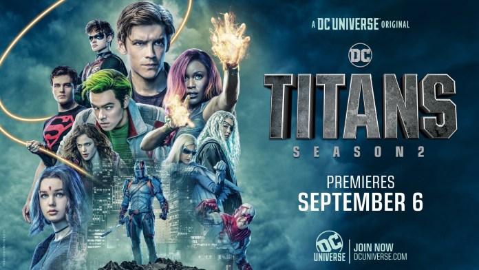 Titans Rose Robin Dc universe Dick grayson