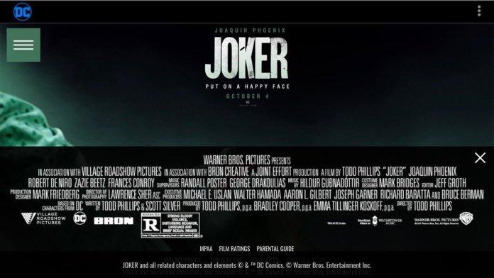 joker vietato ai minori todd phillips joaquin Phoenix
