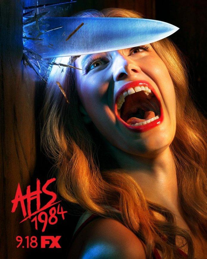 """american horror story: 1984 il poster il teaser trailer """"swing"""" della nona stagione della serie horror di fx"""