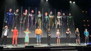 D23 Expo 2019, Gli Eterni ecco il cast ed i concept di tutti i personaggi