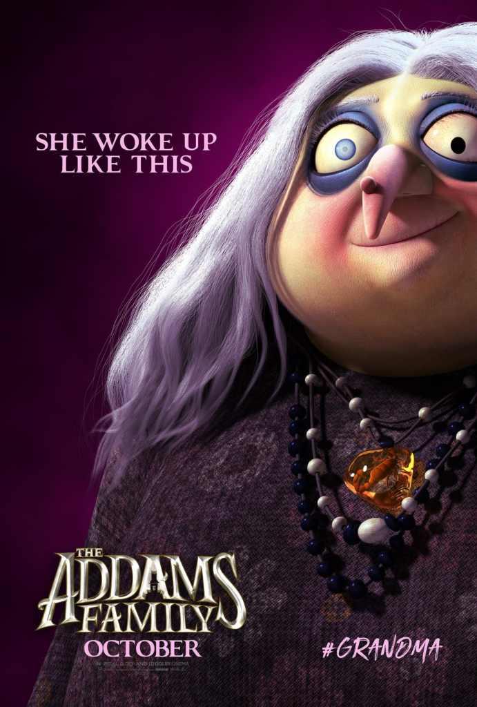 La Famiglia Addams -la nonna