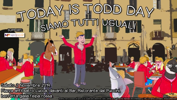 Today is Todd Day
