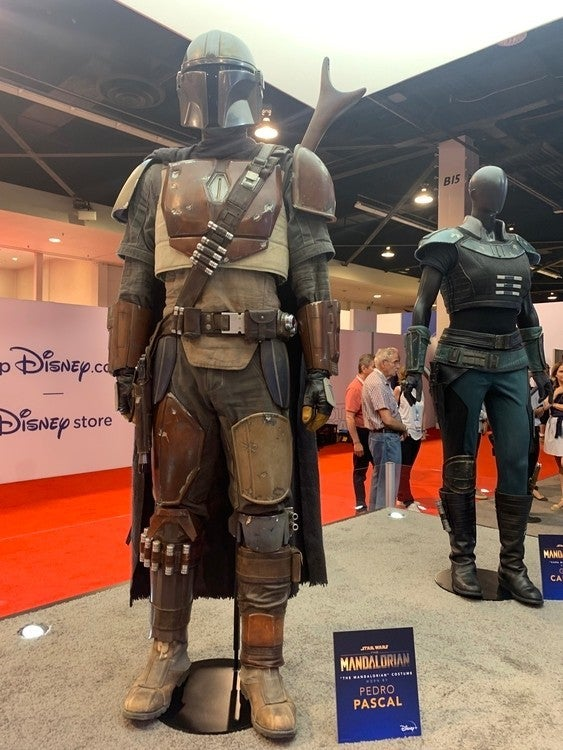 Star Wars: The Mandalorian, costume di Pedro Pascal