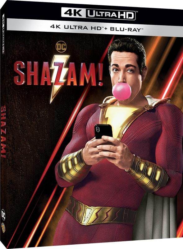 shazam! home video rw edizioni ibs warner bros