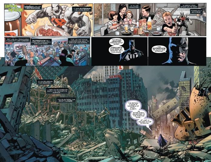 Apex Lex Luthor anno del cattivo year of the villain DC Comics Batman