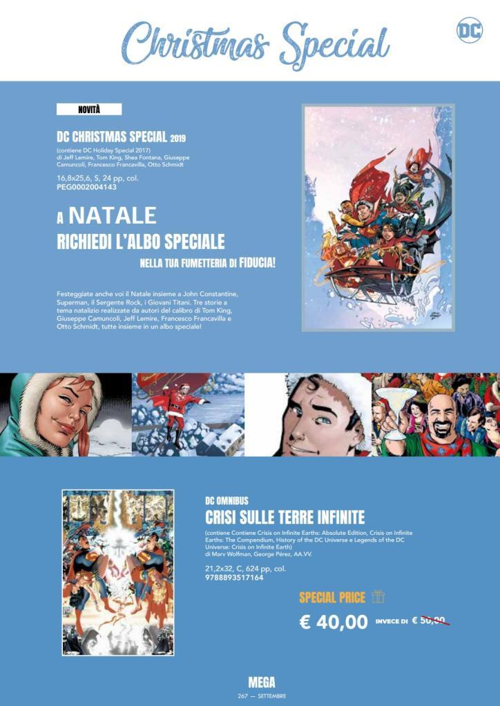 Dc comics RW Edizioni Mega 267