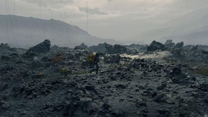 Death Stranding city ruins
