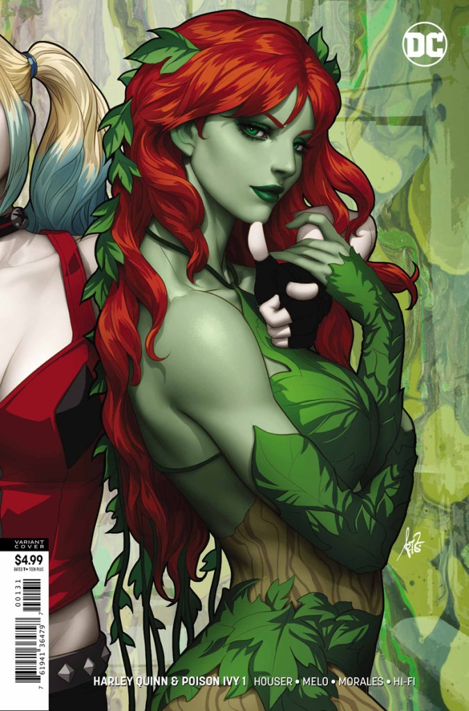 harley quinn e poison ivy #1 dc comics