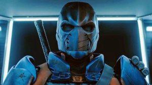 Titans 2: le immagini di Deathstroke e le parole di Esai Morales