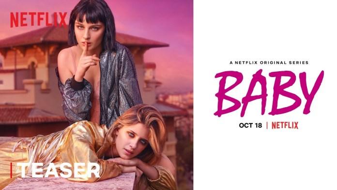 baby seconda stagione netflix teaser trailer e data di uscita