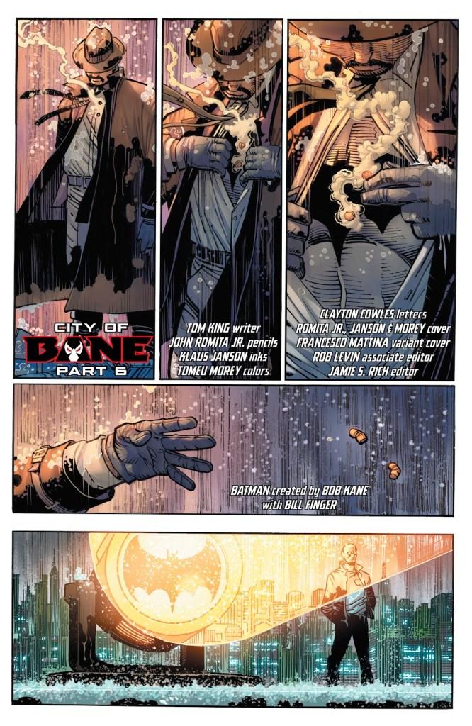 Batman City of Bane Tom King Professor Pyg Harvey Dent DC Comics Dceased Gotham Girl Catwoman
