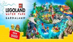 Legoland Water Park Gardaland: le prime immagini del portale di ingresso