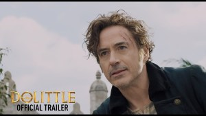 Robert Downey Jr. è Dolittle nel trailer ufficiale del film