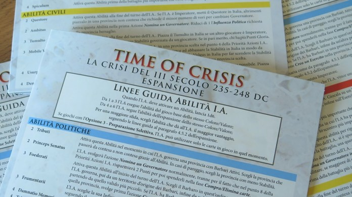 Time of Crisis espansione