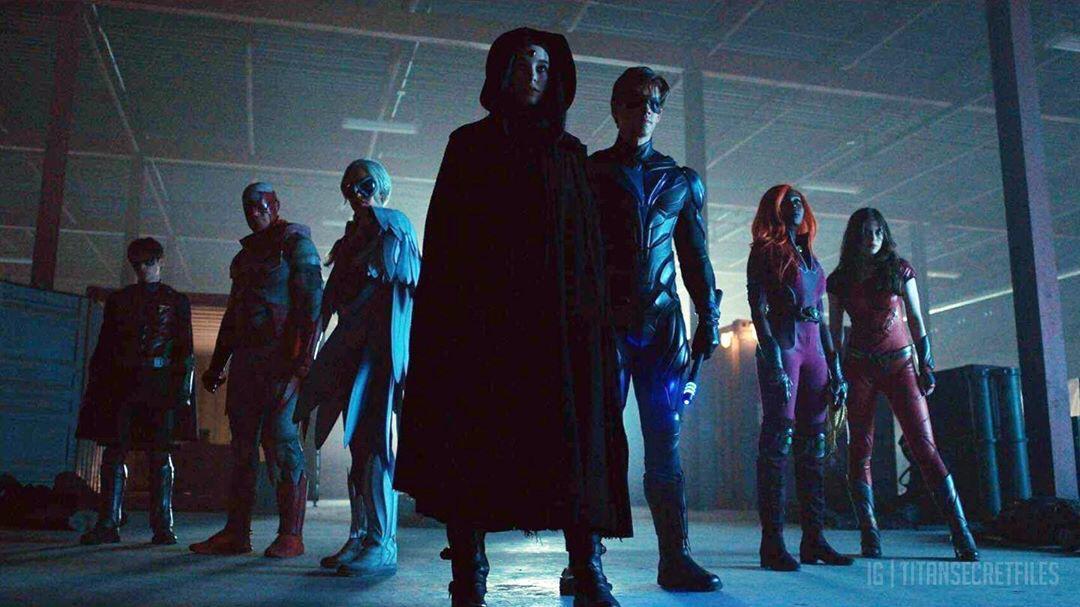 Titans: nuove immagini inedite dalle scene tagliate della prima stagione