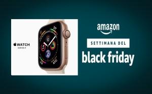 Settimana del Black Friday di Amazon: Apple Watch series 4 in offerta